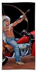 Indian Forever Hand Towel by Glenn Holbrook