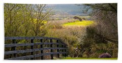 Irish Countryside In Spring Hand Towel