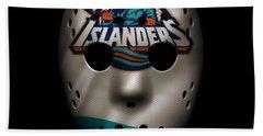 Islanders Jersey Mask Hand Towel