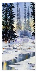 Jack Creek The Wrangells Hand Towel
