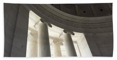 Jefferson Memorial Architecture Hand Towel