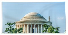 Jefferson Memorial Bath Towel