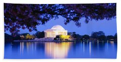 Jefferson Memorial, Washington Dc Hand Towel