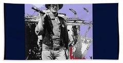 John Wayne Rio Bravo Publicity Photo 1959 Old Tucson Arizona Hand Towel