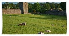 Kells Priory  Count Kilkenny, Ireland Bath Towel