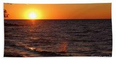 Lake Ontario Sunset Hand Towel