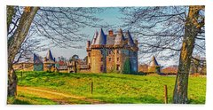 Chateau De Landale Hand Towel by Elf Evans