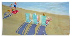 Sunset On Beach - Last Rays Hand Towel