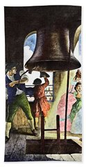 Liberty Bell, 1776 Bath Towel