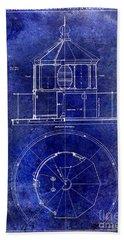 Lighthouse Lantern Lense Order Blueprint  Bath Towel