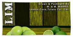 Lime Farm Hand Towel