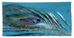 Liquid Blue Bath Towel