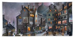 Ludgate Hill Hand Towel