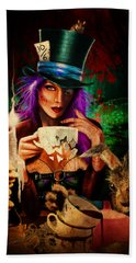 Mad Hatter Hand Towel