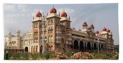 Maharaja's Palace And Garden India Mysore Bath Towel