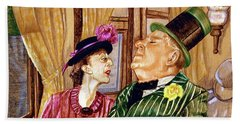 Margaret And W.c. Fields Hand Towel