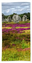 Megalithic Monuments In Brittany Hand Towel