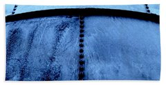 Metal Denim Hand Towel by Amar Sheow