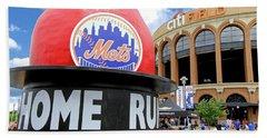 Mets Home Run Apple Bath Towel