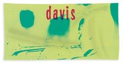 Miles Davis -  Blue Moods Hand Towel