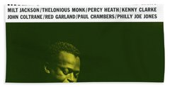 Miles Davis -  Miles Davis And The Modern Jazz Giants (prestige 7150) Hand Towel
