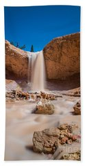 Mossy Cave Waterfall Bath Towel