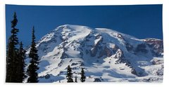 Mount Ranier Bath Towel