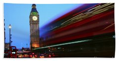 Bath Towel featuring the photograph Must Be London by Jeremy Hayden