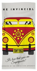My Superhero-vw-t1-iron Man Hand Towel