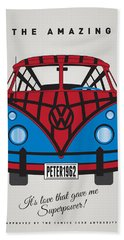My Superhero-vw-t1-spiderman Hand Towel
