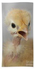 Naked Neck Chick Bath Towel