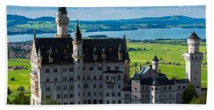 Neuschwanstein Castle - Bavaria - Germany Hand Towel