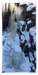 The Wintery Flume  Hand Towel