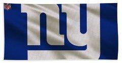 New York Giants Uniform Bath Towel