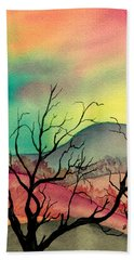 October Sky Hand Towel