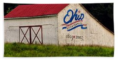 Ohio Bicentennial Barn Hand Towel
