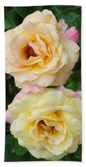 Peace Roses Bath Towel