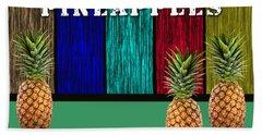 Pineapples Hand Towel