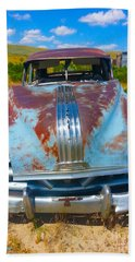 Hand Towel featuring the photograph Pontiac Blues by Amanda Smith