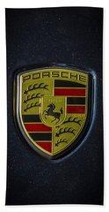 Porsche Logo Hand Towel