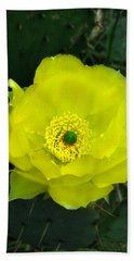 Prickly Pear Cactus Hand Towel