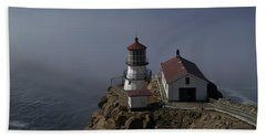 Pt Reyes Lighthouse Hand Towel by Bill Gallagher