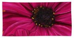 Purple Beauty Hand Towel by Lourry Legarde