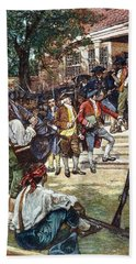 Rebels Courthouse, 1786 Hand Towel