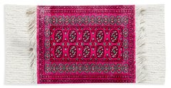 Red Rug Hand Towel