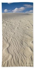 Ripple Dunes At White Sands Hand Towel
