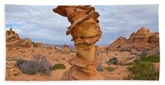Sandstone Formation Vermillion Cliffs  Bath Towel