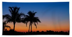 Sanibel Island Florida Sunset Hand Towel