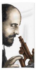 Santiago Ramon Y Cajal, Scientist Bath Towel