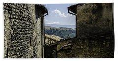 Santo Stefano Di Sessanio - Italy  Bath Towel